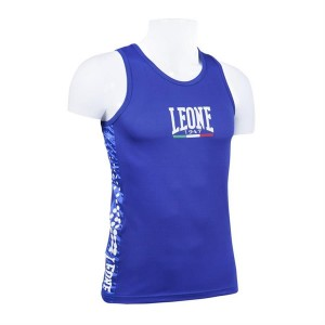Leone Boxing Singlet (Blue)