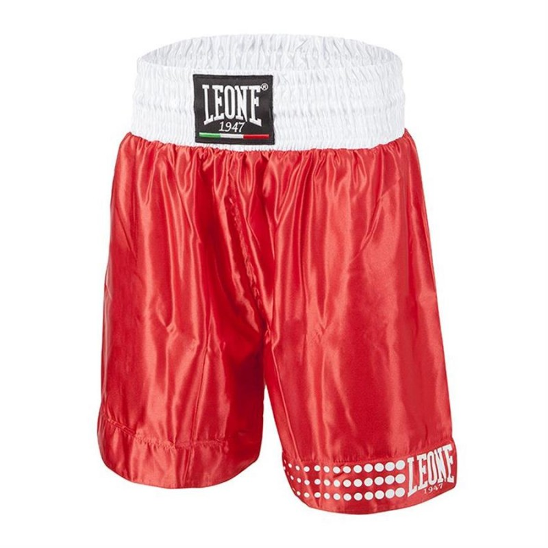 Leone Boxing Shorts (Red)