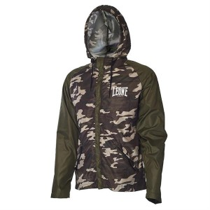 Leone Training Jacket (Green/Mimetic)