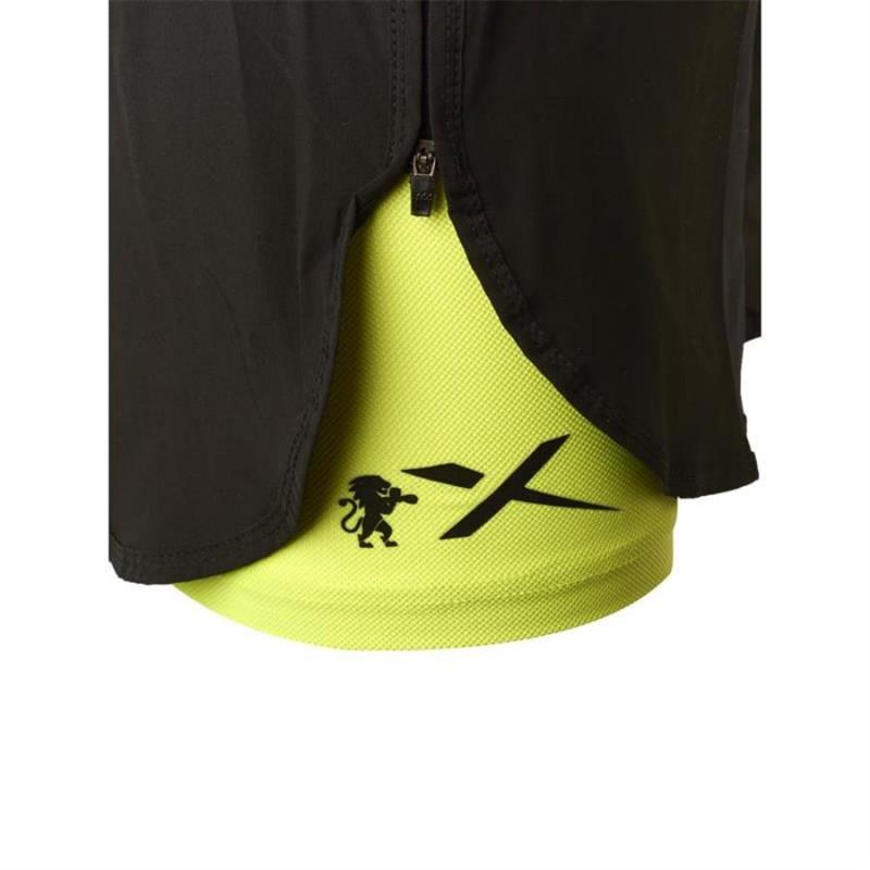 Leone WOMAN PRO TECH SHORTS  (Black X Yellow)