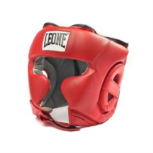 Leone Training Headgear (Red)