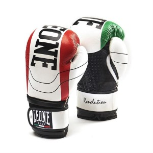 Leone Revolution Boxing Gloves - GN025 (White)