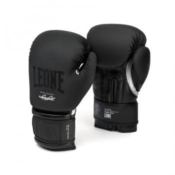 Leone Black and White Boxing Gloves - GN059 (Black...