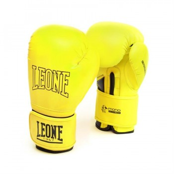 Leone Mono Boxing Gloves - GN062 (Yellow)