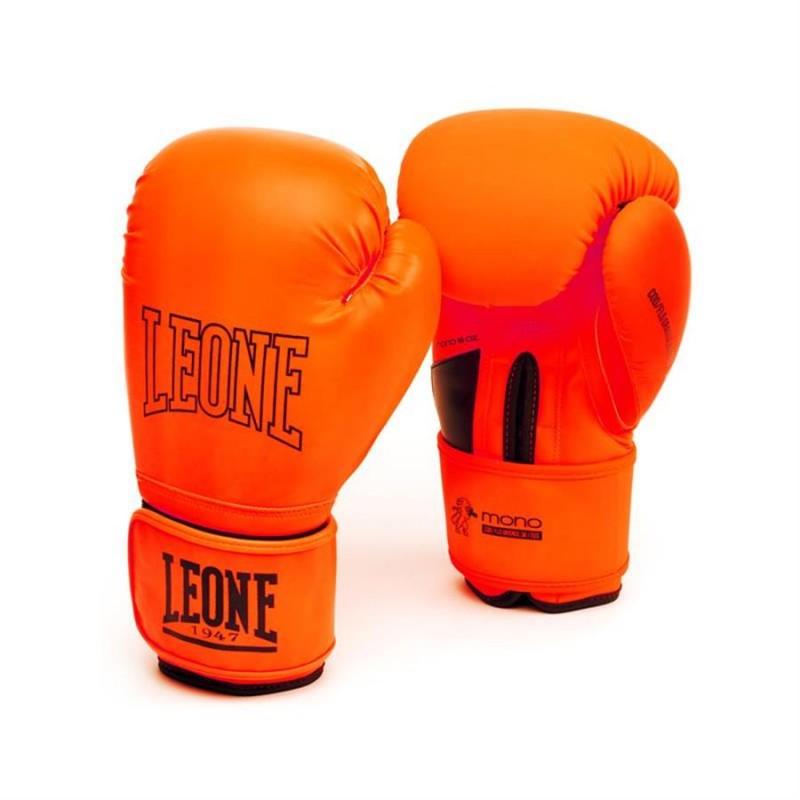 Leone Mono Boxing Gloves - GN062 (Orange)