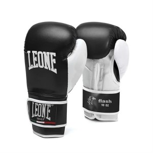 Leone Flash Boxing Gloves - GN083 (Black)