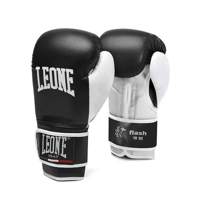 Leone Flash Boxing Gloves - GN083 (Black)