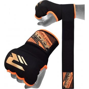 RDX Hosiery Inner Strap (Black/Orange)
