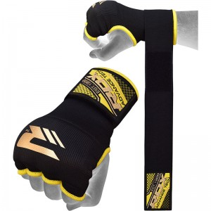 RDX Hosiery Inner Strap (Black/Yellow)