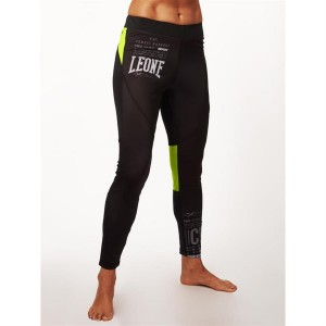 Leone PRO CW TIGHTS (Black X Yellow)