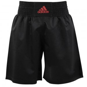 Adidas Multi Boxing Short (Black/Shock Red)