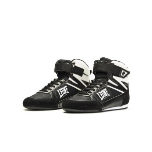 Leone Shadow Boxing Shoes (Black) - CL187