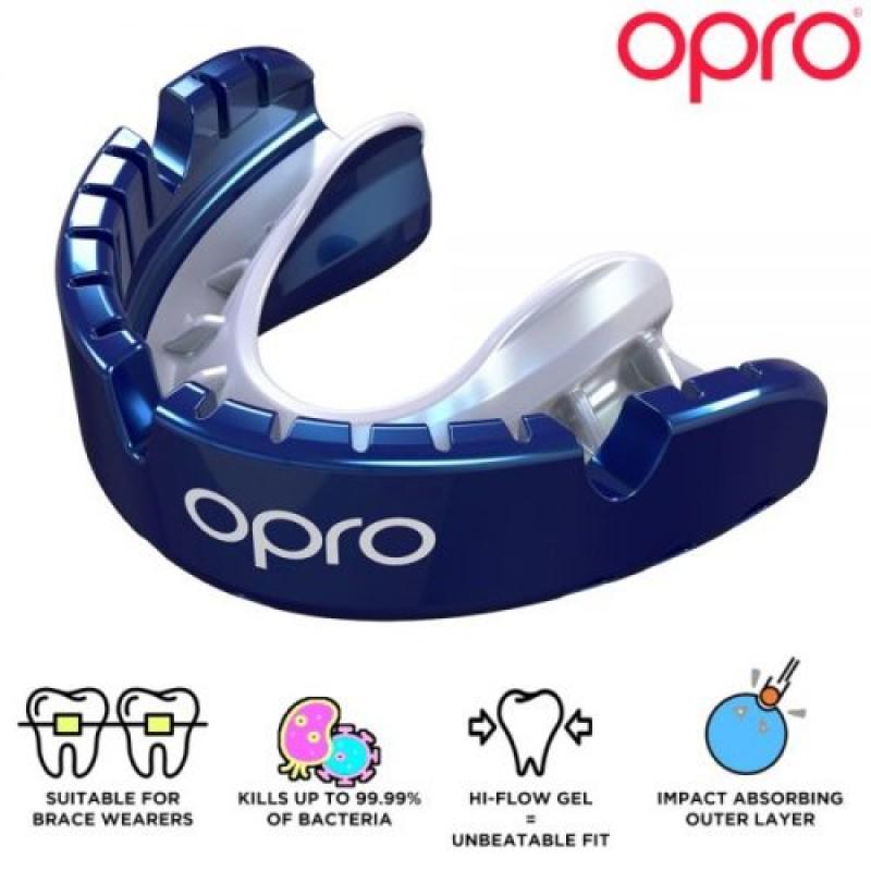 Opro Gold Braces Mouthguard