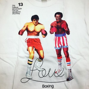 RSC Rocky Love Boxing Tee (White)
