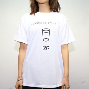 RSC Hungry and Thirsty Tee (White)