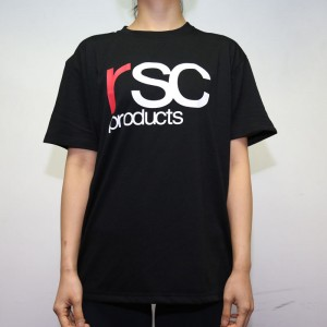 RSC Logo Tee (Black X Red)