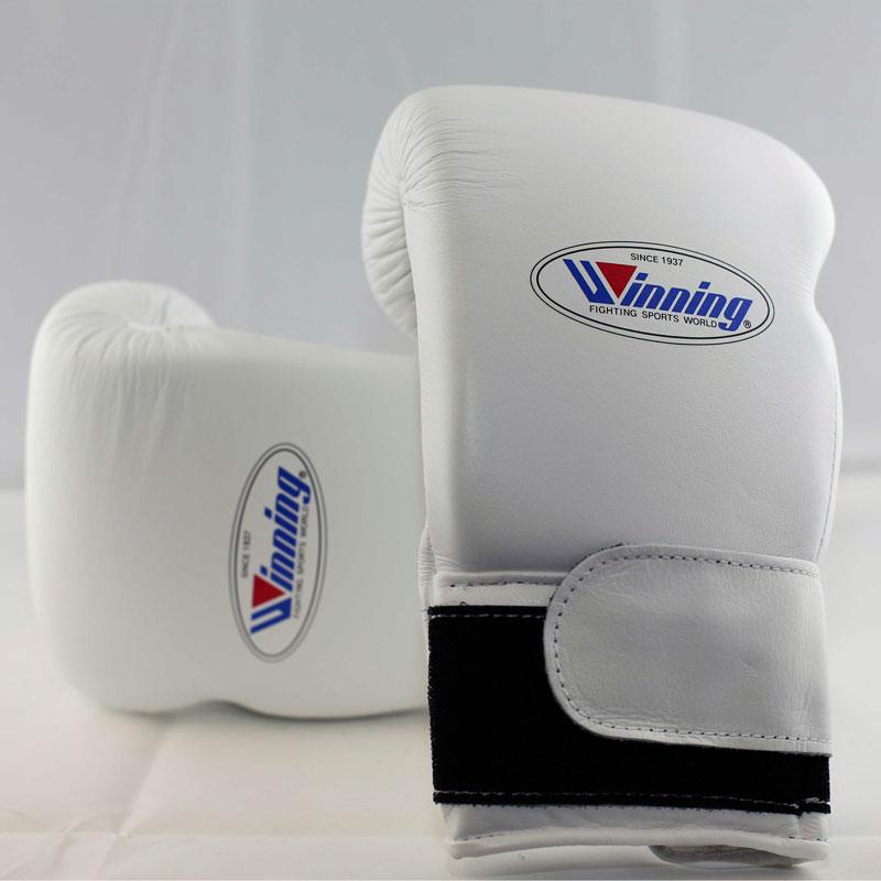 Winning Boxing Gloves (Velcro/White)