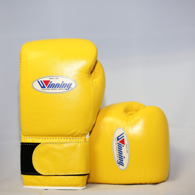 Winning Boxing Gloves Special Edition (Velcro/Yellow)