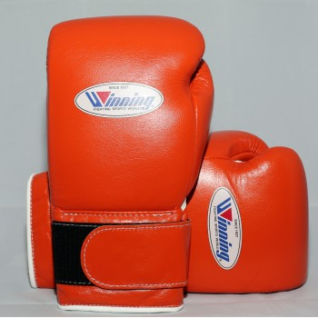 Winning Boxing Gloves Special Edition (Velcro/Oran...