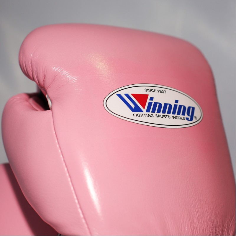 Winning Boxing Gloves Special Edition (Velcro/Pink)