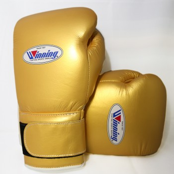 Winning Boxing Gloves Special Edition (Velcro/Gold...
