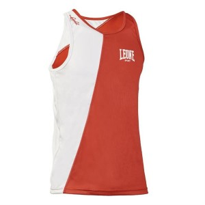 Leone LINEAR BOXING SINGLET (Red)