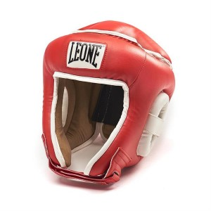 Leone Combat Headgear (Red)